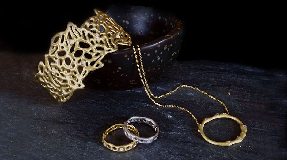 Becca Straus handmade gold jewelry